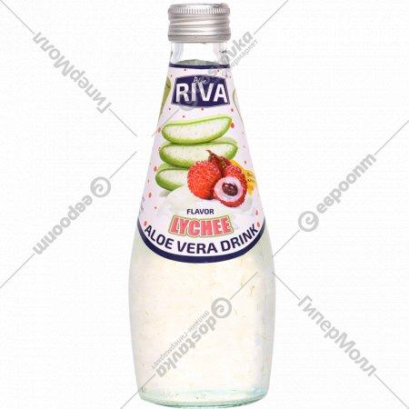 Напиток безалкогольный «Blue Riva» Алоэ вера, вкус личи, 0.29 л.