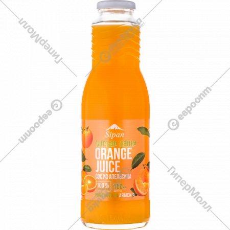 Сок «Sipan» апельсиновый, 750 мл.