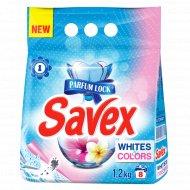 Средство моющее порошкообразное «Savex» Writes&Colors автомат, 1.2 кг.
