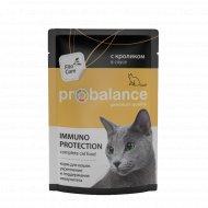 Корм для кошек «ProBalance» c кроликом в соусе, 85 г.
