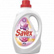 Жидкое концентрированное средство «Savex» 2 в 1 Color, 1.1л.