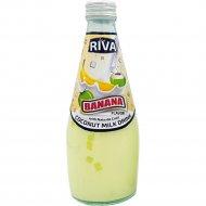 Напиток «Blue Riva» кокосовое молоко со вкусом банана, 290 мл.