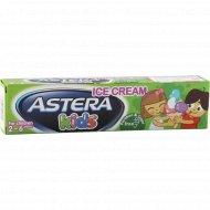 Зубная паста «Astera Kids» с ароматом мороженого, 50 мл.