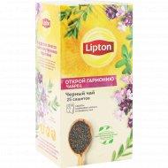 Чай черный «Lipton» thyme, 25 х1.5 г.
