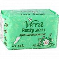 Прокладки гигиенические «Vera» Panty, 21 шт.