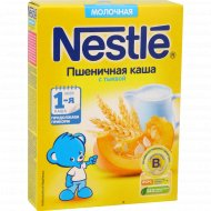 Каша молочная «Nestle» пшеничная с тыквой, 220 г.
