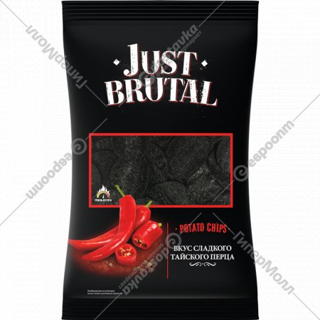 Чипсы картофельные «Just Brutal» тайский перец, 100 г.