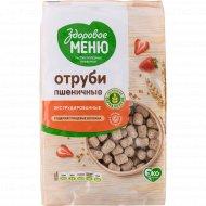 Отруби пшеничные «Здоровое меню» экструдированные, 200 г.