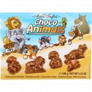 Молочный шоколад «Choko Animals» фигурный, 100 г.
