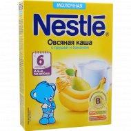 Каша овсяная молочная «Nestle» с грушей и бананом, 220 г.