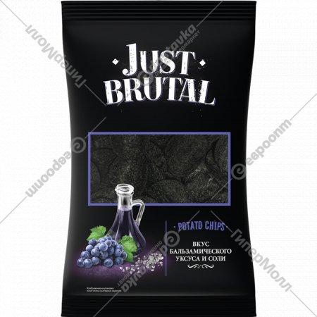 Чипсы картофельные «Just Brutal» бальзамический уксус и соль, 100 г.