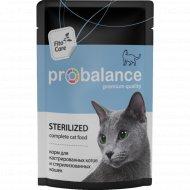 Корм для стерилизованных котов и кастрированных кошек «ProBalance» 85 г