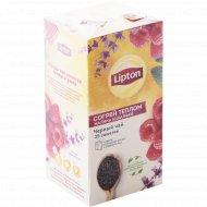 Чай черный «Lipton» raspberry & sage, 25 х1.5 г.