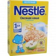 Каша молочная «Nestle» овсяная, с яблоком, 220 г.