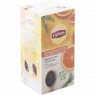 Чай черный «Lipton» orange & rosemary, 25 х1.5 г.