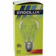 Лампа накаливания «Ergolux» Е27, 60 Вт.