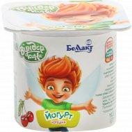 Йогурт для детей «Беллакт» черешня 3.2%, 100 г.