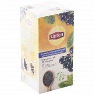 Чай черный «Lipton» blackcurrant & mint, 25 х1.5 г.