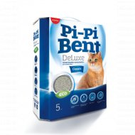 Наполнитель «Pi-Pi-Bentc» Deluxe Classic, бентонит, 5 кг.