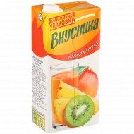 Напиток сокосодержащий «Вкусника» мультифрукт, 1.93 л.