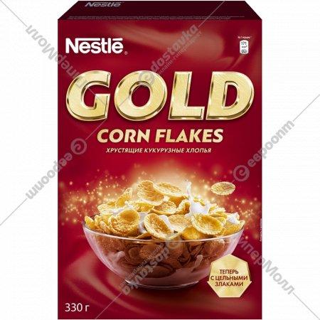 Хлопья кукурузные «Nestle» Gold» 330 г.