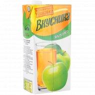 Напиток сокосодержащий «Вкусника» яблочный, 1.93 л.