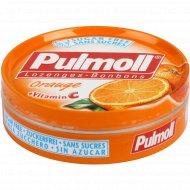 Карамель леденцовая «Pulmoll» Апельсин со стевией, без сахара, 45 г.