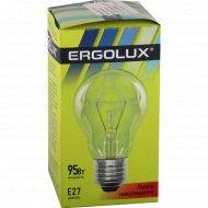Лампа накаливания «Ergolux» Е27, 95 Вт.