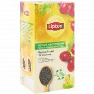 Чай черный «Lipton» летнее настроение, 25 х1.5 г.