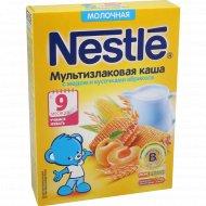 Каша молочная «Nestle» с мёдом и кусочками абрикоса, 220 г.