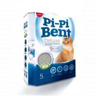 Наполнитель «Pi-Pi-Bentc» Deluxe Clean Cotton, бентонит, 5 кг.
