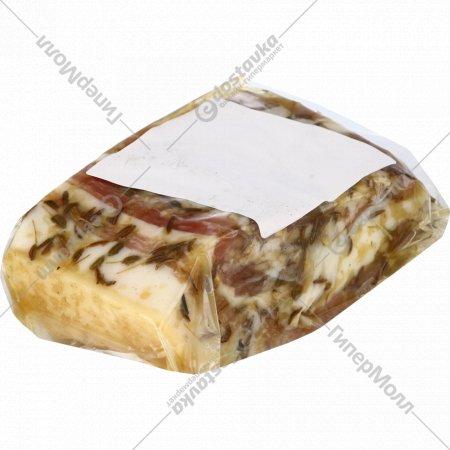 Грудинка солёная «Деревенская» 1 кг., фасовка 0.5-0.6 кг