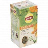 Чай зеленый «Lipton» солнечная лёгкость, 25х1.4 г.