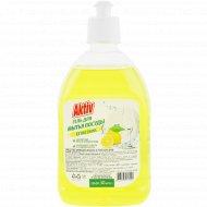 Гель для мытья посуды «Aktiv» лимон, 500 мл.