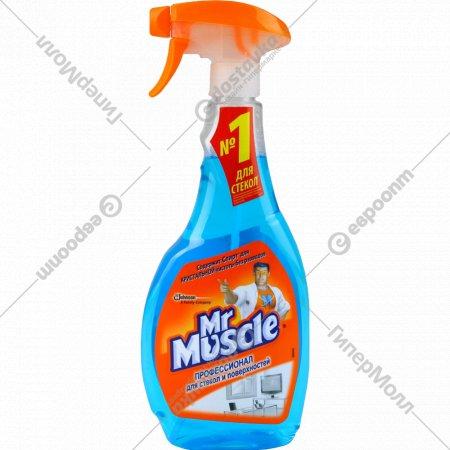 Средство для мытья стекол и поверхностей «Mr.Muscle» 500 мл