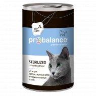 Корм «ProBalance» для стерилизованных кошек Sterilized, 415 г.