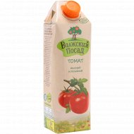 Сок «Волжский посад» томатный с солью и сахаром, 1 л.