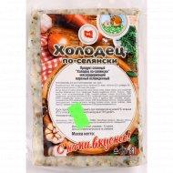 Продукт слоеный «Холодец по-селянски» вареный, охлажденный, 1 кг., фасовка 0.4-0.5 кг