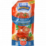 Кетчуп томатный «Моя семья» краснодарский, 400 г.