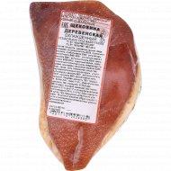 Щековина копчено-вареная «Деревенская» мякотная, 1 кг, фасовка 0.3-0.5 кг