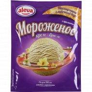 Десерт сухой для мороженого «Aleva» с ароматом крем-брюле, 75 г.