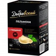 Пельмени «Добровский» с говядиной, 400 г.