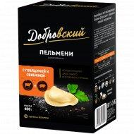 Пельмени «Добровский» с говядиной и свининой, 400 г.