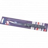 Нож металлический «Plenus» с пластмассовой ручкой, 23/12 см.