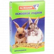Корм «Dr.Hvostof» основной рацион для кроликов, 600 мл.