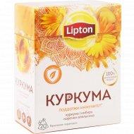 Напиток травяной «Lipton» куркума с имбирем, 20х1.4 г.