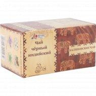 Чай черный «Калиновские чаи» индийский, 20х1.8 г.