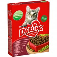 Корм для кошек «Darling» с мясом по-домашнему и овощами, 300 г.