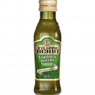 Масло оливковое «Filippo Berio» Extra Virgin нерафинированное, 250 мл.