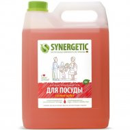 Антибактериальный гель для посуды «Synergetic» сочный арбуз, 5 л.